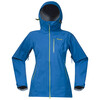 Bergans W's Eidfjord Jacket Athens Blue/Spring Leaves/Light Winter Sky
